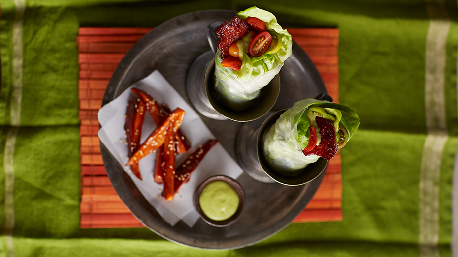 Teriyaki-Bacon-Candy-Wraps