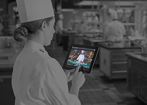 Culinary training video subscription