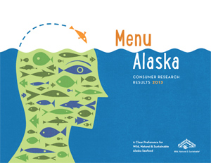 Menu Alaska research brochure