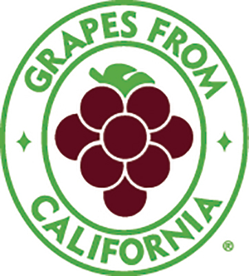 Grapes from California logo